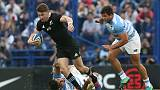 All Blacks deny Pumas first win with tight 20-16 victory