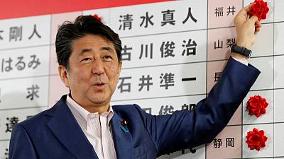 Japan's pro-constitution reform forces fall short of 2/3 upper house majority - NHK