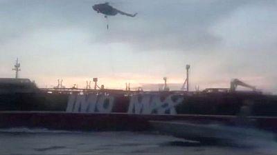سفينة حربية بريطانية حذرت القوات الإيرانية من احتجاز الناقلة