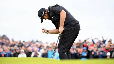 Golf: Lowry vince The Open