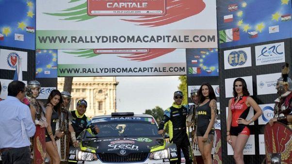 Rally: Basso su Skoda trionfa a Roma
