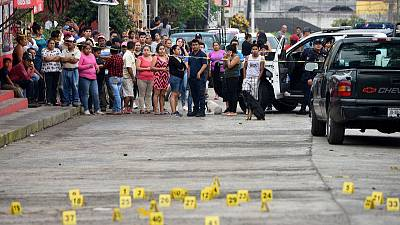 Murders in Mexico surge to record in first half of 2019