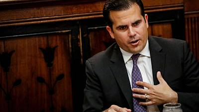 Puerto Rico governor says will not seek re-election, but refuses to resign over chats