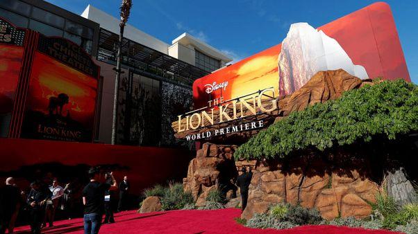 """فيلم """"الأسد الملك"""" يتصدر إيرادات السينما في أمريكا الشمالية"""