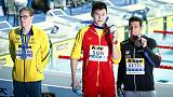 Swimming: Fellow swimmers hail Horton for podium protest