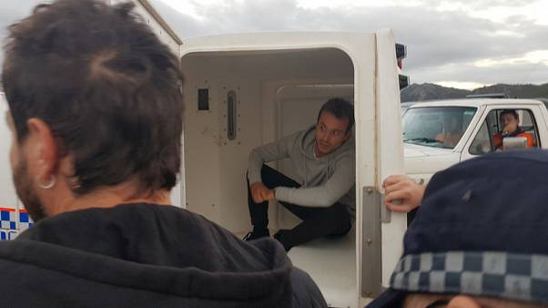 Australia detains French television crew filming anti-coal protest