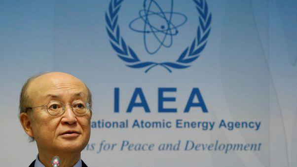 U.N. nuclear watchdog chief Amano has died, IAEA tell member states