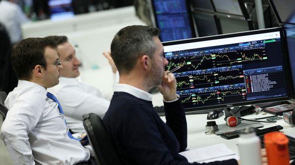 Oil majors lift FTSE 100, Ted Baker rises on M&A chatter