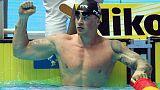 """بيتي يتوج بذهبية الصدر ويستهدف رقما """"يقل عن 56 ثانية"""" في أولمبياد 2020"""
