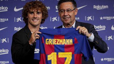 Griezmann all'esordio nel Barcellona
