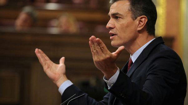 Spain's Podemos demands bigger government role to back Sanchez as PM