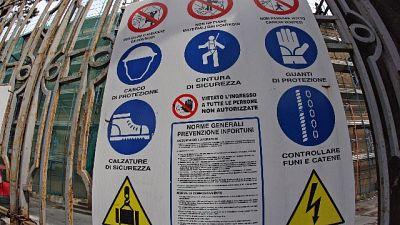 Operaio muore schiacciato nel Bolognese