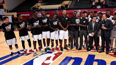 La NBA annonce la liste des equipes masculine et feminine qui representeront L'Afrique au Jr. NBA Global Championship