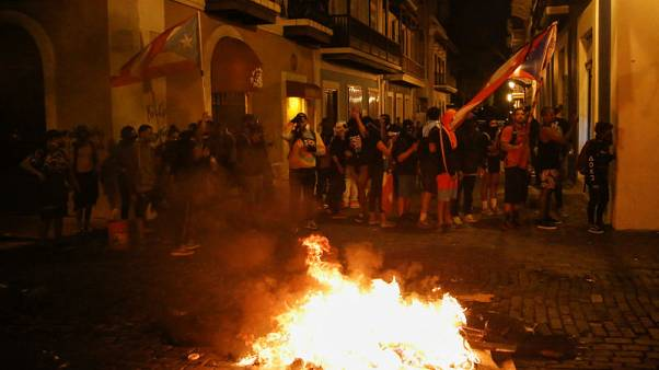 San Juan braces for an 11th day of protests, amid calls for Puerto Rico's governor to resign
