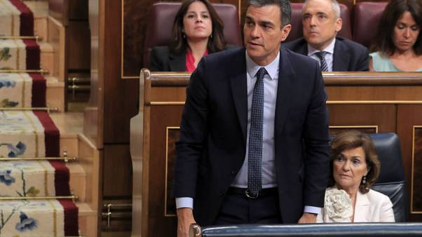 Spain's Sanchez loses first bid to be confirmed as PM, eyes Thursday vote
