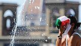 Caldo,a Firenze possibili anche 40 gradi