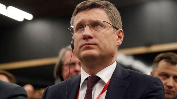 وكالة: وزير الطاقة الروسي يأمل في ارتفاع الطلب على النفط في 2020