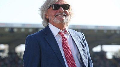 Sampdoria: Ferrero atteso in ritiro