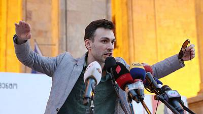 Economist's double life on the frontline of Georgia's street protests