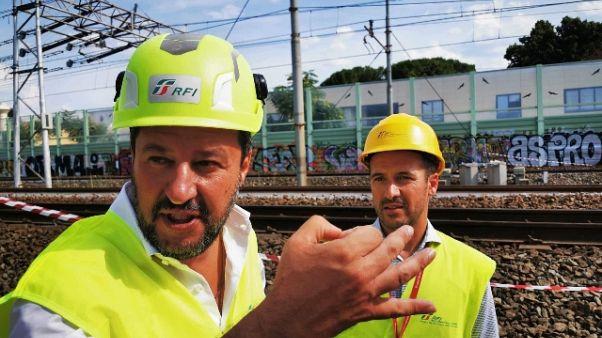 Tav: Salvini, ministro sblocchi le opere