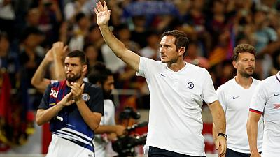 Chelsea's Lampard gets message across to players in Barca win