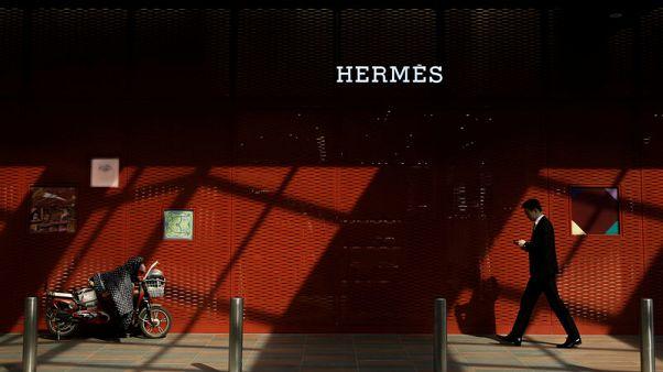 Strong Asia demand buoys sales at Birkin bag maker Hermes