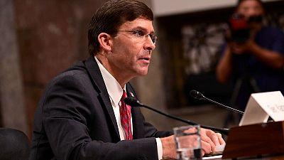 U.S. Senate confirms former lobbyist Esper as secretary of defence