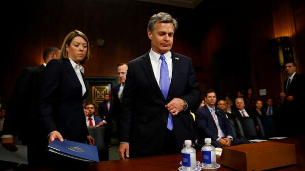 FBI Director Wray - Russia intent on interfering with U.S. elections