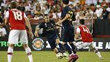 Bale makes goalscoring return as Real edge Arsenal on penalties