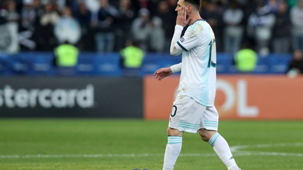 Messi Banned For One Game For Copa America Red Card Euronews