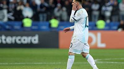 Messi banned for one game for Copa America red card