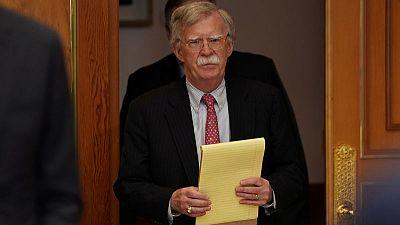 U.S. security adviser Bolton meets South Korean officials to discuss North Korea, alliance