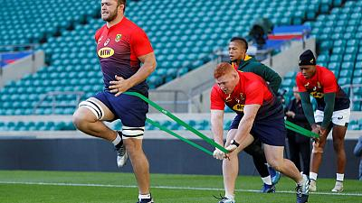 South Africa team to face New Zealand in Rugby Championship