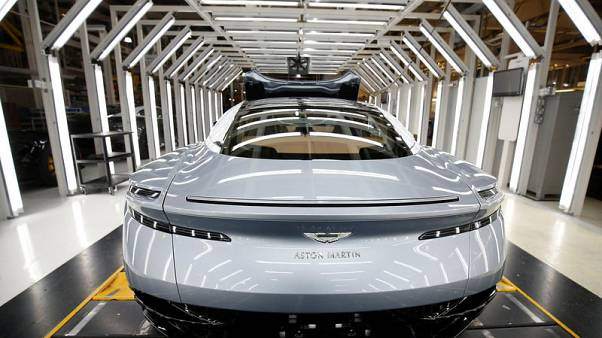 Aston Martin cuts 2019 forecasts on UK, Europe weakness