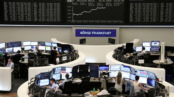 نتائج متواضعة تلقي بظلالها على الأسهم الأوروبية عند الفتح