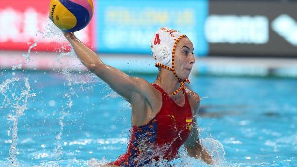 United States and Spain reach women's water polo final