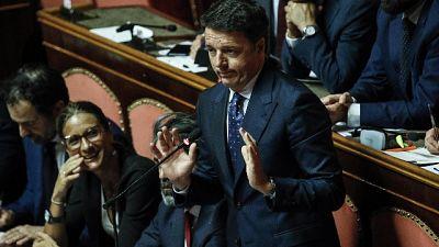 Lega: lite Pd, in Senato non parla Renzi