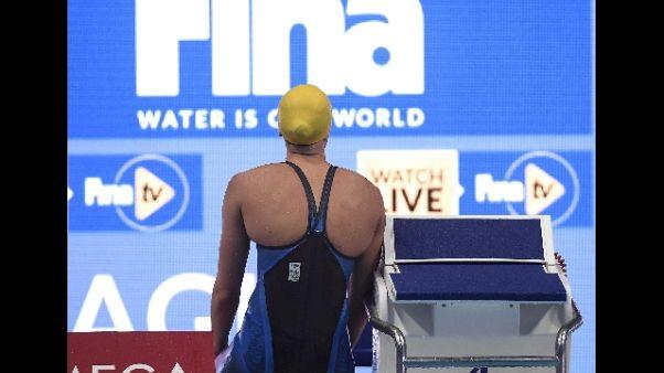 Mondiali nuoto: malore per la Sjostrom