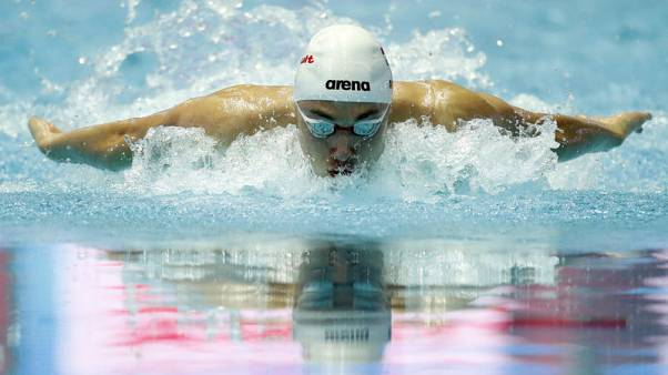 Hungary's Milak breaks Phelps' 200 butterfly world record