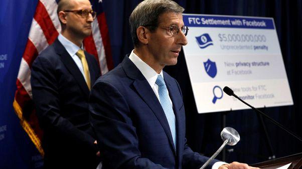 Facebook to pay record $5 billion U.S. fine over privacy; faces antitrust probe