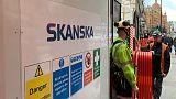 Skanska second-quarter operating profit above forecast
