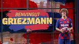 Atletico ask La Liga to block Griezmann's Barca registration, says Tebas