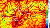 Caldo, percepiti 43 gradi a Bolzano
