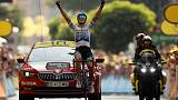 Cycling: Trentin wins Tour de France 17th stage as tempers flare