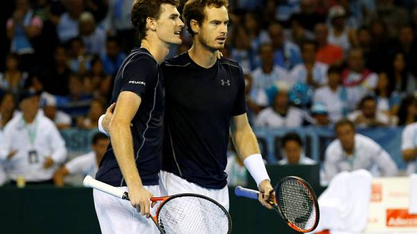 Andy Murray to team up with brother Jamie for Citi Open doubles