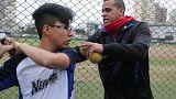 Venezuelan baseball players go to bat for Peru in Pan American Games