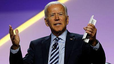 Biden, Booker escalate feud over U.S. criminal justice reform