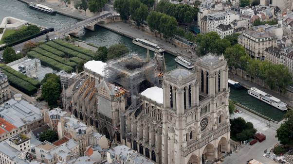 Heatwave threatens France's fire-ravaged Notre-Dame cathedral