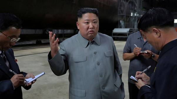 North Korea fires suspected missiles into ocean, nuclear talks in doubt