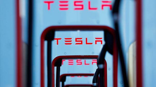 Tesla second-quarter revenue misses, shares fall
